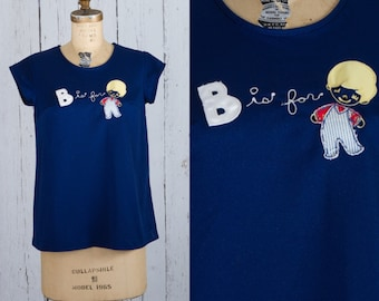 Vintage 1970s maternity top | B is for boy