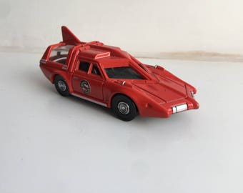 Captain Scarlet Red Spectrum Patrol Car