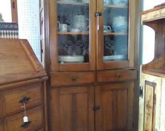 Antique Walnut Pie Safe