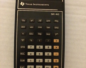 Texas Instrument Calculator: Vintage