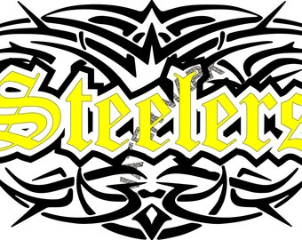Pittsburgh Steelers SVG. PNG File Download Tattoo Tribel