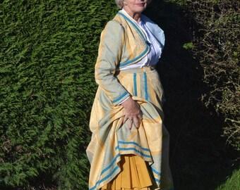 STEAMPUNK - Ladies skirt and bolero jacket.