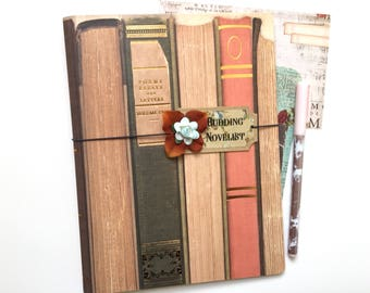 Traveler's Notebook Cover, Planner Cover, Notebook, Journal