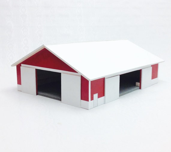 Wood Toy Barn Wood Barn Machine Shed 1 64 Scale Machine Shed