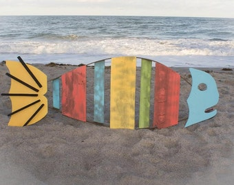 Tropical Wooden Fish