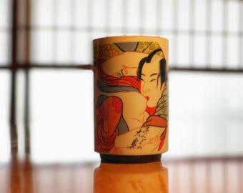 Japanese Erotica - Porcelain Cup