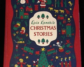 Lois Lenski's Christmas Stories by Lois Lenski (1968, Hardcover)