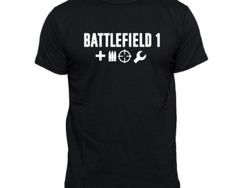 Battlefield 1 T-Shirt | Gaming T-Shirt Inspired Xbox , PS4