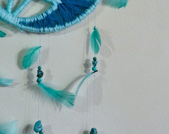 Turquoise Crystal Dream Catcher**20% OFF**