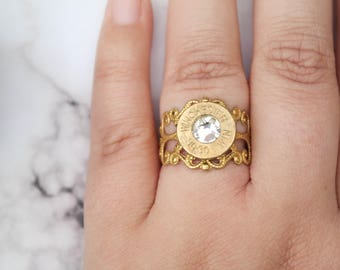 G.I. Jane Darling Bullet Ring