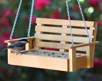 Porch Swing Style Bird Feeder