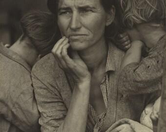 "Dorothea Lange, Migrant Mother, dorothea lange print, lange photos, Fine Art Photography by Dorothea Lange - ""Migrant Mother"""