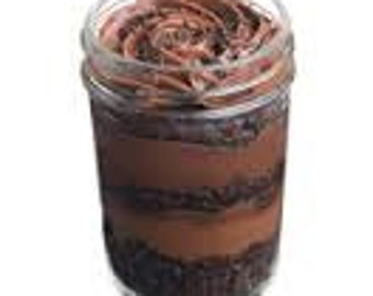Chocolate Haze Gourmet Cupcakes in a Jar, Desserts Delivered to your Door