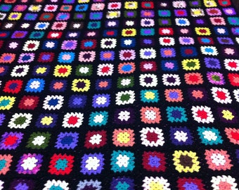 Handcrafted knitted blankets