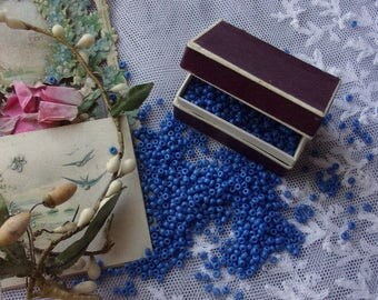 "A lot of vintage ""blue"" beads"