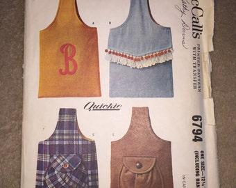 McCall's 6794, Vintage Pattern, Vintage Purse Pattern, Sling Handbag Pattern
