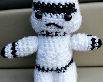 Crochet Star Wars mini dolls