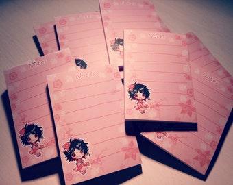 Cute Notepad chibi Amaya