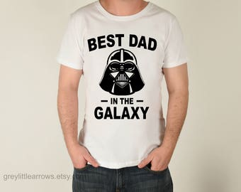 Best Dad in the Galaxy Shirt, Father's Day Gift, Star Wars Shirt, Disney Shirt, Darth Vader Shirt, Matching Shirts, Birthday Gift, Daddy