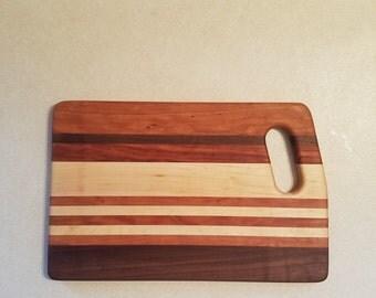 Cutting board, cheese board, butcher block, wood decor, modern