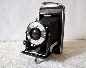 "Vintage Kodak ""A Modèle 11"" folding camera model 11."