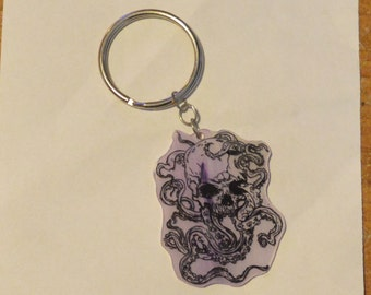 Skull Octopus Teni Key Chain