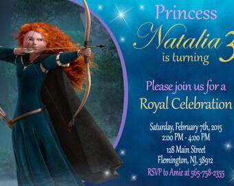 Brave Invitation Birthday Party