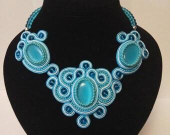 """Necklace """"Sea Wave"""""""