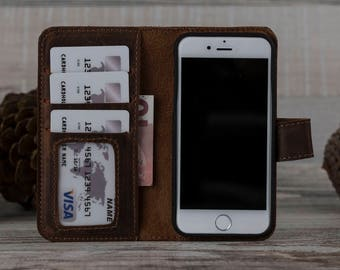 iPhone SE Case, iPhone 5SE Case, iPhone SE Leather Case, Leather iPhone 5SE Case, Leather iPhone SE Case, Mothers Day Gift, Brown Se Case