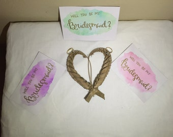 Will you be my bridesmaid? (pink)