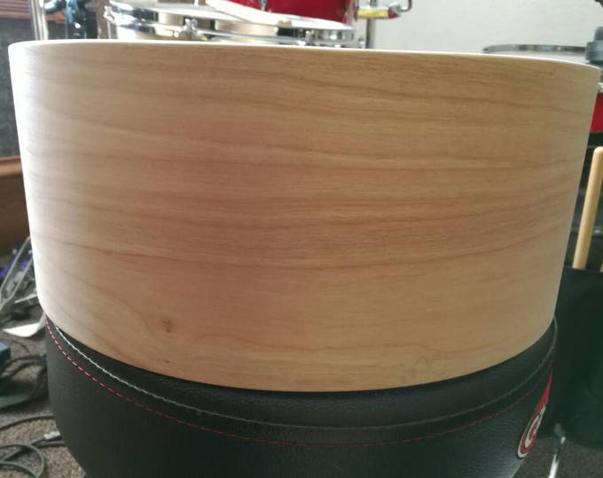 Vintage style 14x5.5 3ply cherry, poplar, cherry bare snare drum shell by Erie drums