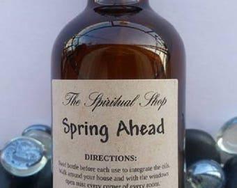 Spring Ahead Spray/Get rid Winter Blues/ Positive Energy Spray /Energy Clearing Spray /Aura Cleanser /Reiki Spray/Aromatherapy/Essential Oil