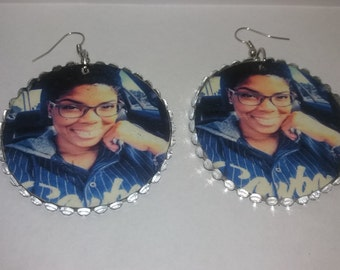 Custom Photo Earrings (Put your photo on your earrings)