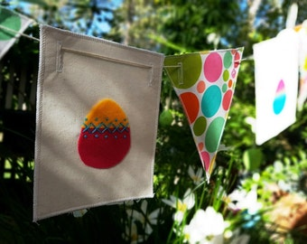 Restringable Easter Bunting