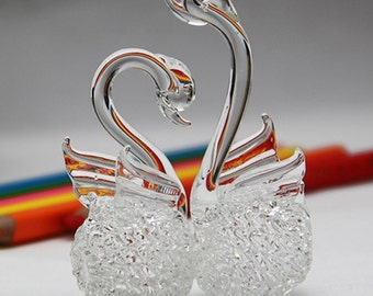 Nice Decorative Lovely Sentimental Swan Love Couple