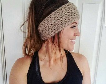 Ear Warmer Head Band (Crochet)