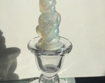 Sabino Opalescent Glass Cherub