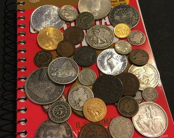 Estate Sale Lot Old US Coins~ Money~Gold Silver~ BIG VALUE Collection 50 Years+