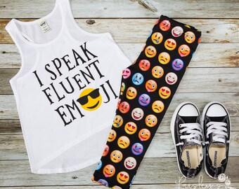 Emoji Tank - Cool Emoji Shirt - Emoji Tee - Emotions Tank - Trendy Girls Tank - Kids shirt - Kids t-shirt - Kids Emoji Shirt - Kids Apparel