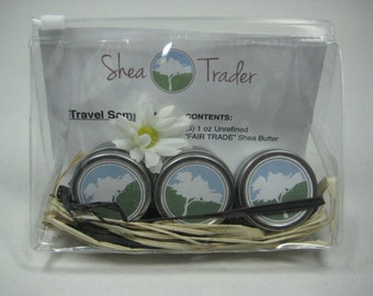 Shea Trader Triple Pack - Unrefined Raw Shea Butter