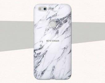 Custom Name Marble Google Pixel Case, Custom Marble Pixel Case, Personalized Marble Pixel XL Case, Custom Pixel XL Case, Personalized Pixel