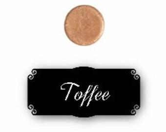 Pressed mineral eyeshadow - Toffee