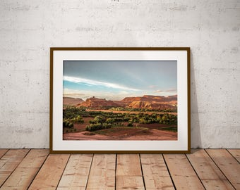 Ait Ben Haddou, Morocco - Physical fine art photography print