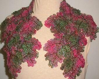 Pin Loom Weaving Leaf Scarf Pattern Zoom Loom Squares Custom Design
