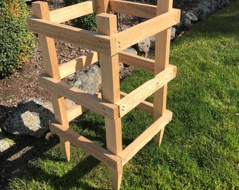 24 inch Cedar Garden Tomato Cage (sold in sets of 2)
