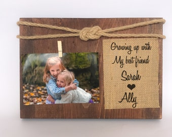 sisters picture frame sisters gift brothers picture frame personalized picture frame sisters photo frame