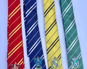 Corbata de Harry Potter, Harry Potter, asistente Tie, traje de Harry Potter, Harry Potter fiesta Favor, favores de cumpleaños de Harry Potter, asistente partido