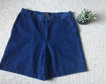 Women's Vintage High Waisted Shorts 14 M