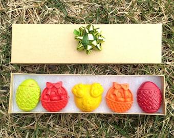 Easter Crayons | Easter Basket Stuffer | Candy alternative | Easter Eggs | Spring party favor | Kids Easter | Egg Crayons | Gifts under 10