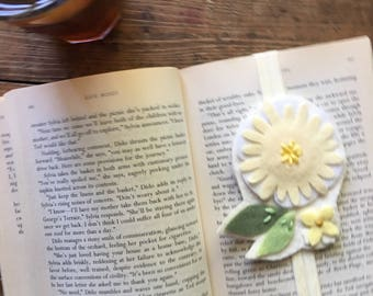 Summer Wool Felt Bookmark